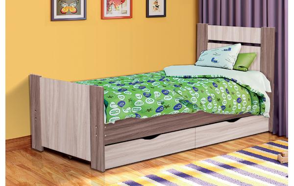 """Кровать односпальная с ящиками """"Тандем"""""""